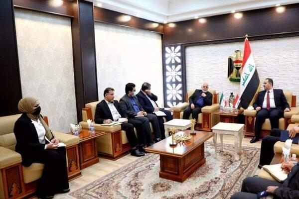 رایزنی سفیر ایران و وزیر عراقی درباره تقویت همکاری های مشترک