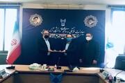 مراسم معارفه سرپرست اداره کل امور دانشجویی دانشگاه آزاد برگزار شد