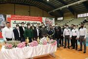 قهرمانی تیم دانشگاه آزاد اسلامی شهرکرد در مسابقات استانی