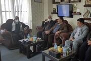 دیدار بروجردی با مسئولان دانشگاههای جامی و اشراق افغانستان