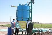 دستگاه تولید شیرابه کود دامی رونمایی شد/ تزریق شیرابه به مزارع با آبیاری قطرهای