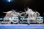مقام سوم شمشیربازان دانشگاه آزاد اسلامی در لیگ اپه
