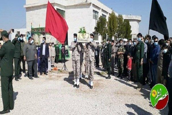 برگزاری مراسم تشییع و تدفین شهید گمنام در دانشگاه آزاد اسلامی واحد دیلم