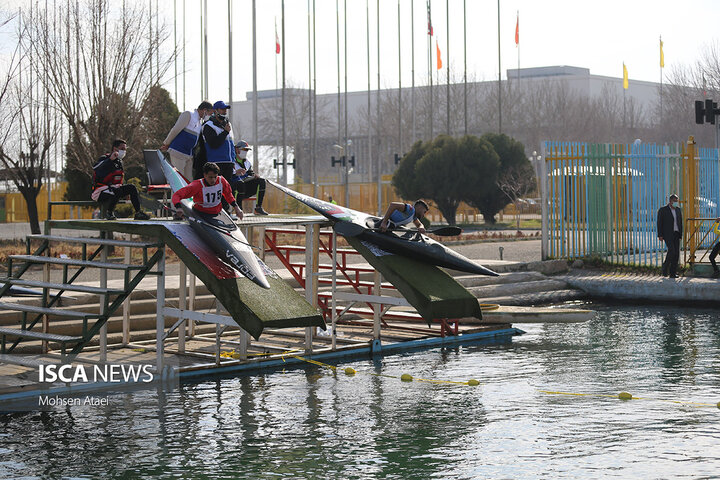 دور برگشت لیگ برتر مسابقات قایقرانی