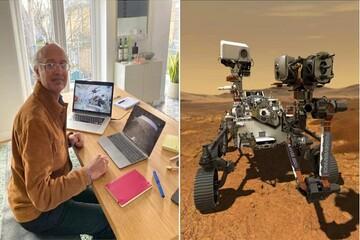 کنترل کاوشگر مریخ از یک آپارتمان