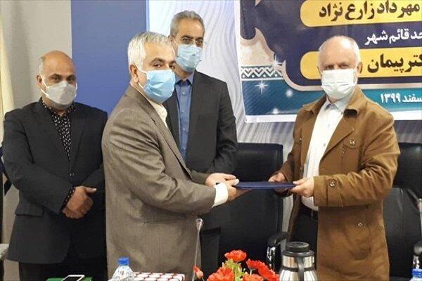 سرپرست جدید دانشگاه آزاد اسلامی قائمشهر معرفی شد