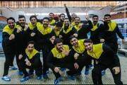 صعود تیم دانشگاه آزاد به فینال لیگ برتر واترپلو