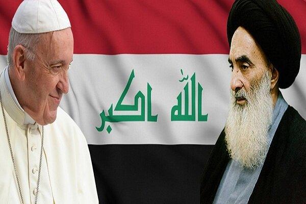 دیدارتاریخی «پاپ فرانسیس با آیتالله سیستانی» گامی در جهت ثبات عراق