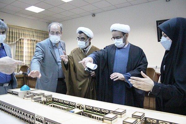 رونمایی از ماکت شبیهسازیشده دانشگاه علوم انسانی اسلامی قم