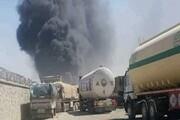 وقوع آتش سوزی در یکی دیگر از گمرک های مرزی افغانستان با ایران