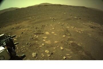 کاوشگر «استقامت» روی مریخ حرکت کرد