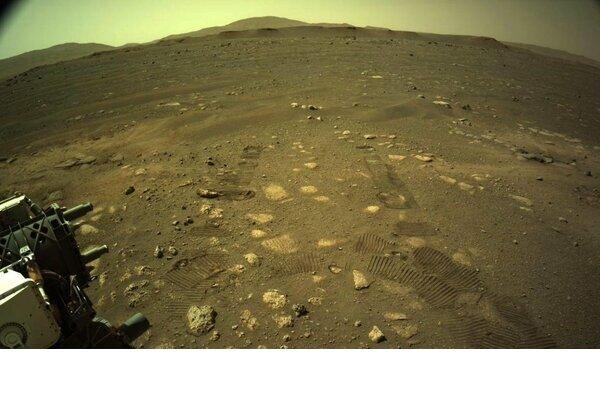 حرکت کاوشگر «استقامت» روی سطح مریخ