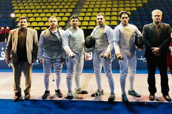 مقام سوم شمشیربازان دانشگاه آزاد اسلامی در لیگ فلوره
