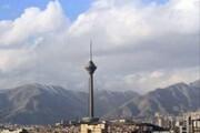 کیفیت مطلوب هوای تهران/ احتمال افزایش غلظت آلاینده ها