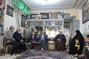 رئیس دانشگاه آزاد اسلامی با خانواده شهید حججی دیدار کرد
