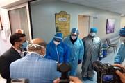 بازدید سرزده فرمانده ستاد مقابله با کرونا در کلانشهر تهران از مراکز درمانی ورامین
