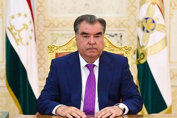 پیام تبریک رییس جمهور تاجیکستان به روحانی به مناسبت نوروز