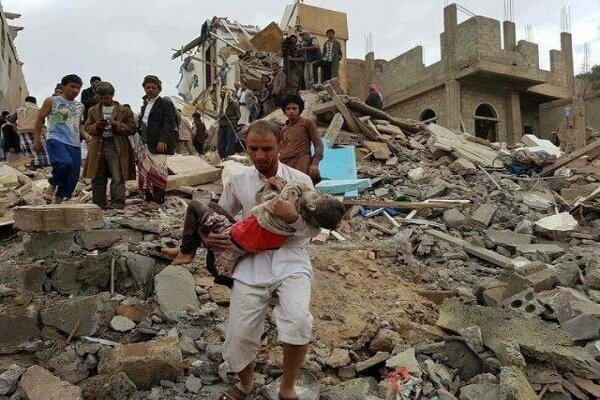بمباران شدید استان «صعده» یمن توسط جنگندههای سعودی