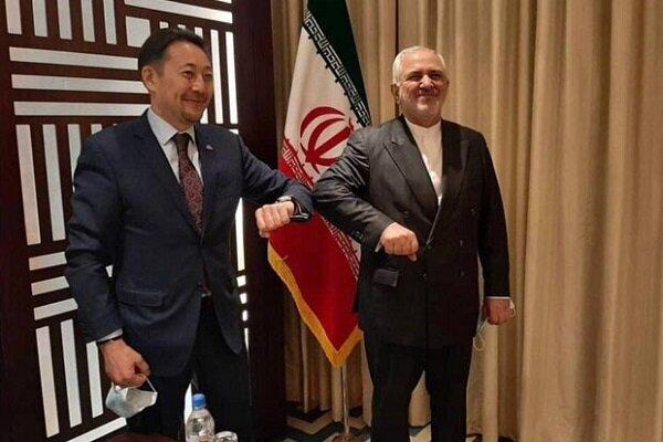 ظریف با دبیر اجرایی «سیکا» دیدار کرد