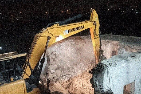 تخریب منازل فلسطینی از سوی صهیونیستها در کرانه باختری ادامه دارد