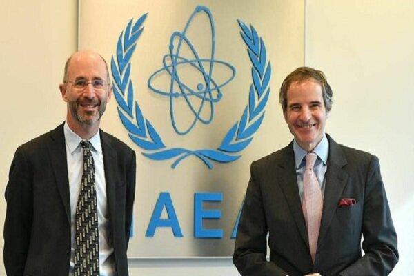 دیدار نماینده آمریکا در امور ایران با «رافائل گروسی»