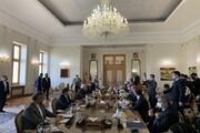 گفتگوهای ظریف و وزیر خارجه روسیه آغاز شد