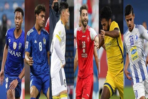 ۲ بازیکن سرخابی در فهرست ستارههای لیگ قهرمانان آسیا