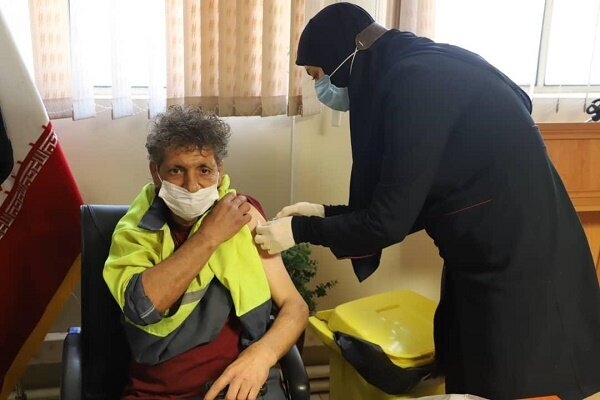 آغاز واکسیناسیون پاکبانان شهرداری منطقه ۳