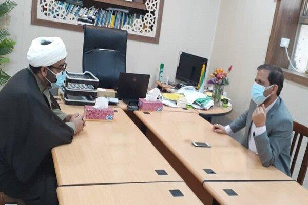 آمادگی دانشگاه آزاد قشم برای همکاری با نهادهای فرهنگی شهرستان