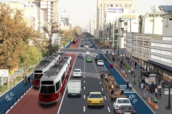 آغاز اجرای طرح خیابان کامل در منطقه ۱۱