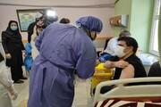 کادر درمان و دانشجویان بیمارستان بوعلی واکسیناسیون شدند