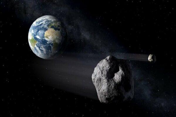 یک سیارک فرضی با زمین برخورد کرد!