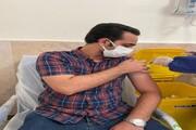 دانشجویان پزشکی و پیراپزشکی واحد زاهدان واکسینه شدند