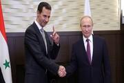 گفتگوی تلفنی پوتین و اسد درباره روابط دوجانبه و اوضاع منطقه