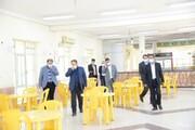 بازدید معاون فرهنگی و دانشجویی دانشگاه آزاد اسلامی از واحد بوشهر