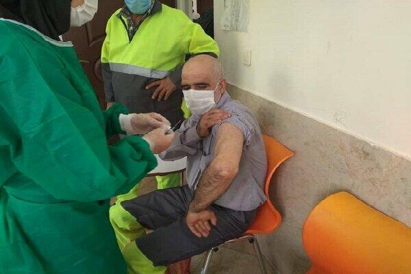 بارگذاری اطلاعات دریافت کنندگان واکسن شهرداری تهران
