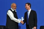 فیسبوک هشتگ استعفای نخست وزیر هند را بلوکه کرد