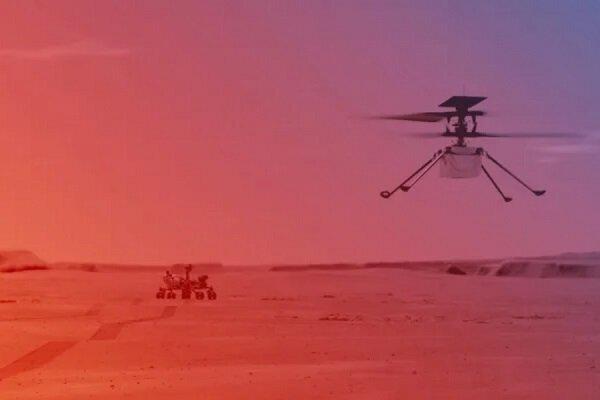 چهارمین پرواز هلیکوپتر مریخی نبوغ امروز انجام میشود