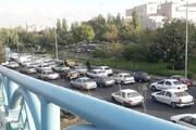 ترافیک سنگین در تمامی محورهای بزرگراهی شهر تهران