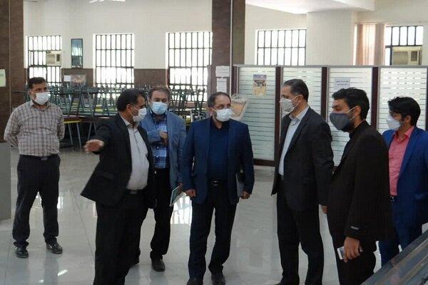 دکتر جهانبین از امکانات رفاهی و دانشجویی واحد اصفهان بازدید کرد