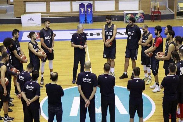 شروع اردوی تیم ملی بسکتبال از ۲۶ اردیبهشت ماه