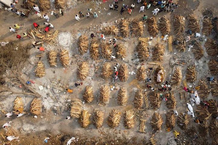 طوفان کرونا در هند