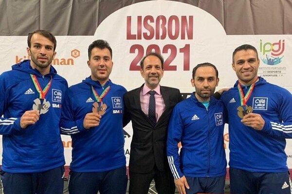 ۴ ایرانی در صدر بهترینهای کاراته جهان