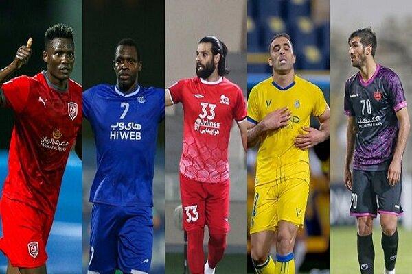 سه ایرانی در بین برترین مهاجمان لیگ قهرمانان آسیا