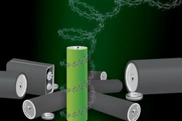 تولید باتری بدون فلز با قابلیت بازیافت و سازگار با محیط زیست