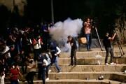 یورش وحشیانه صهیونیستها به فلسطینیان در قدس