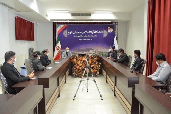 همکاری دانشگاه آزاد اسلامی و هلال احمر اصفهان