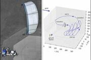 بادبادکی که از بادهای مریخی برق تولید می کند