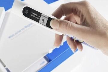 تجهیز قلم انسولین به سرپوش هوشمند