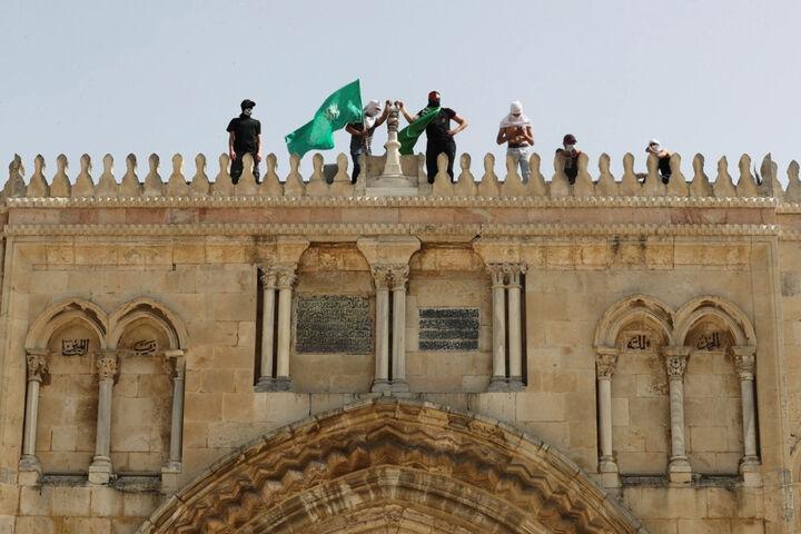 قیام در مسجد الاقصی
